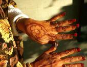 Henna ornamentation