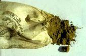 Lawsonia inermis. Henna from Iran in market. Lythraceae